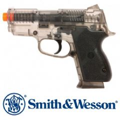 Official S&W Chief Special 45 Clear Smokey BB Airsoft Gun